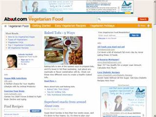 vegetarian.about.com