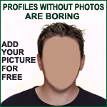 Image recommending members add Vegetarian Passions profile photos